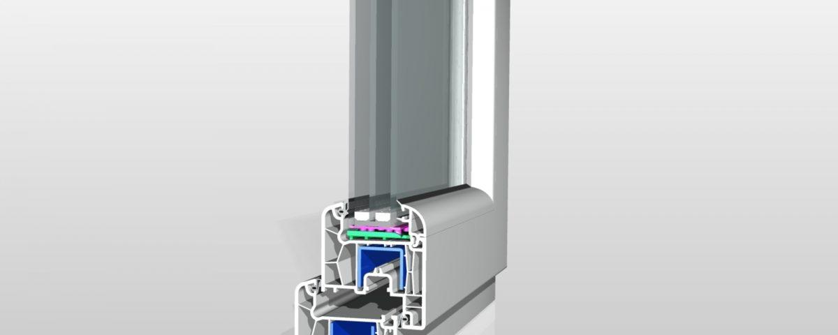 VIVAPLAST система за врати и прозорци 7500