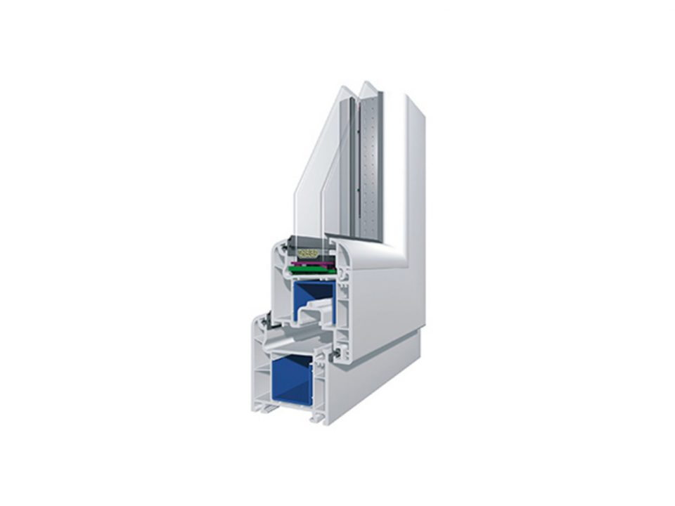 VIVAPLAST система за врати и прозорци 6300