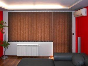 Вертикални текстилни щори