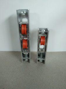 Ролка двойна единична метална