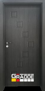 Немска интериорна врата Gradde Zwinger, Череша Сан Диего, модел Full