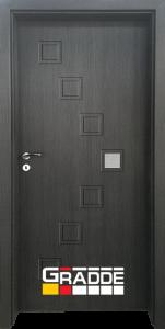 Немска интериорна врата Gradde Zwinger, Череша Сан Диего, модел 1