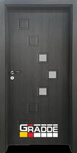 Немска интериорна врата Gradde Zwinger, Череша Сан Диего, модел 2