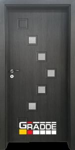 Немска интериорна врата Gradde Zwinger, Череша Сан Диего, модел 3