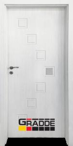 Немска интериорна врата Gradde Zwinger, модел 1, Сибирска Лиственица
