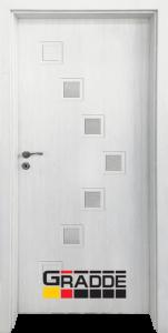 Немска интериорна врата Gradde Zwinger, модел 3, Сибирска Лиственица
