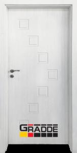 Немска интериорна врата Gradde Zwinger, модел Full, Сибирска Лиственица