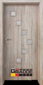 Немска интериорна врата Gradde Zwinger, Ясен Вералинга