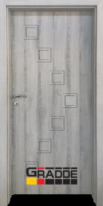 Немска интериорна врата Gradde Zwinger, модел 1