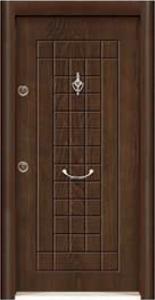 Турска интериорна врата Рустик панел 1269