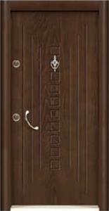 Турска интериорна врата Рустик панел 1270