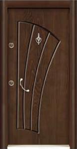 Турска интериорна врата Рустик панел 1272