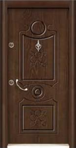 Турска интериорна врата Рустик панел 1273