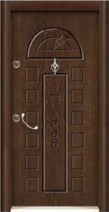 Турска интериорна врата Рустик панел 1276
