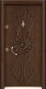 Турска интериорна врата Рустик панел 1277