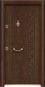 Турска интериорна врата Рустик панел 1278