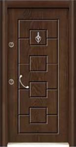 Турска интериорна врата Рустик панел 1279