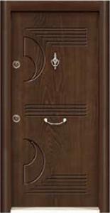 Турска интериорна врата Рустик панел 1281