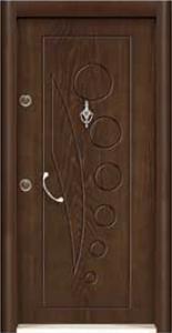 Турска интериорна врата Рустик панел 1282