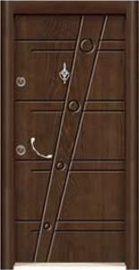 Турска интериорна врата Рустик панел 1283