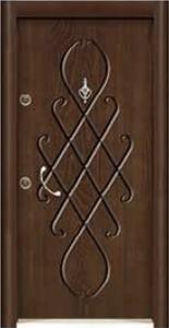 Турска интериорна врата Рустик панел 1285