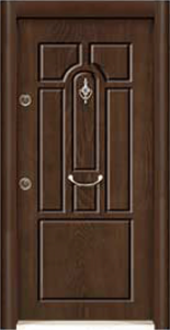 Турска интериорна врата Рустик панел 1286