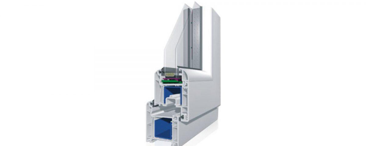 VIVAPLAST система за прозорци 6400