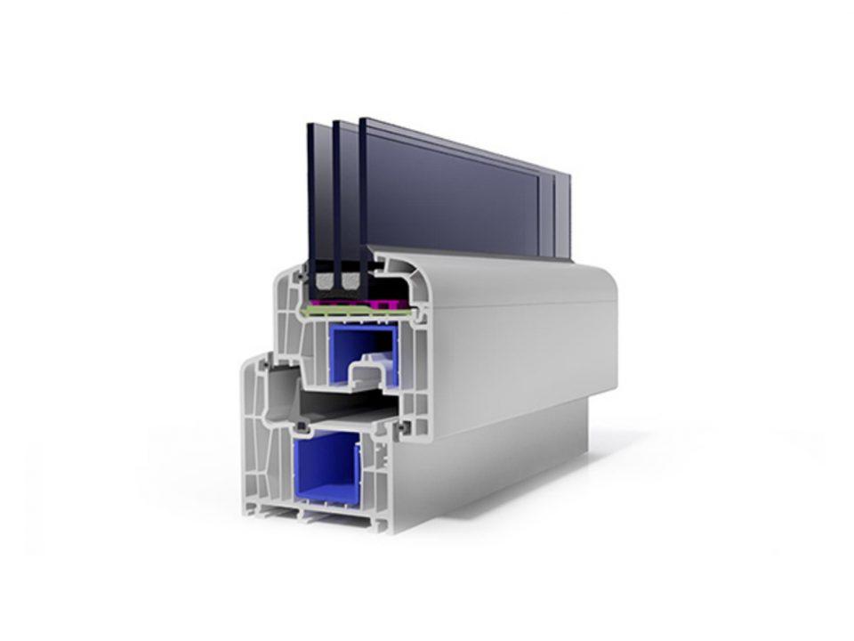 VIVAPLAST система за прозорци 8700